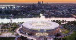 New Perth Stadium Aerial Drone Footage