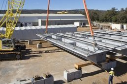 PERMAcast Television Debut – Mitchell FWY Bridge Beams