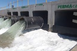 Permacast Supplies Precast L-Shapes and Culverts for Dampier Salt Pump Station
