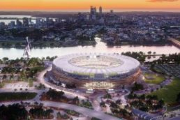 New Perth Stadium Aerial Drone Footage